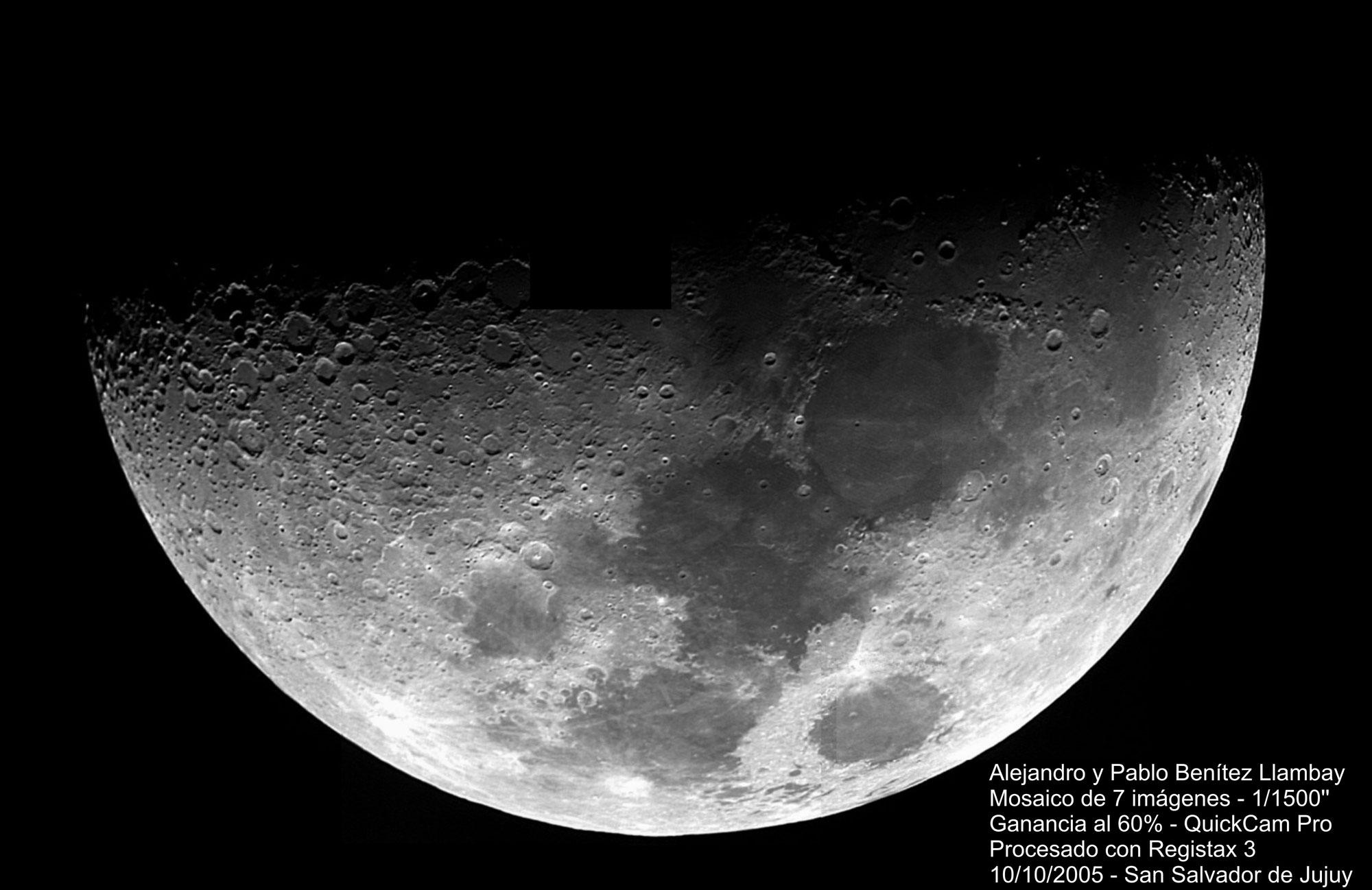 Imagenes De Baño De Luna:La Luna con webcam QuickCam Pro