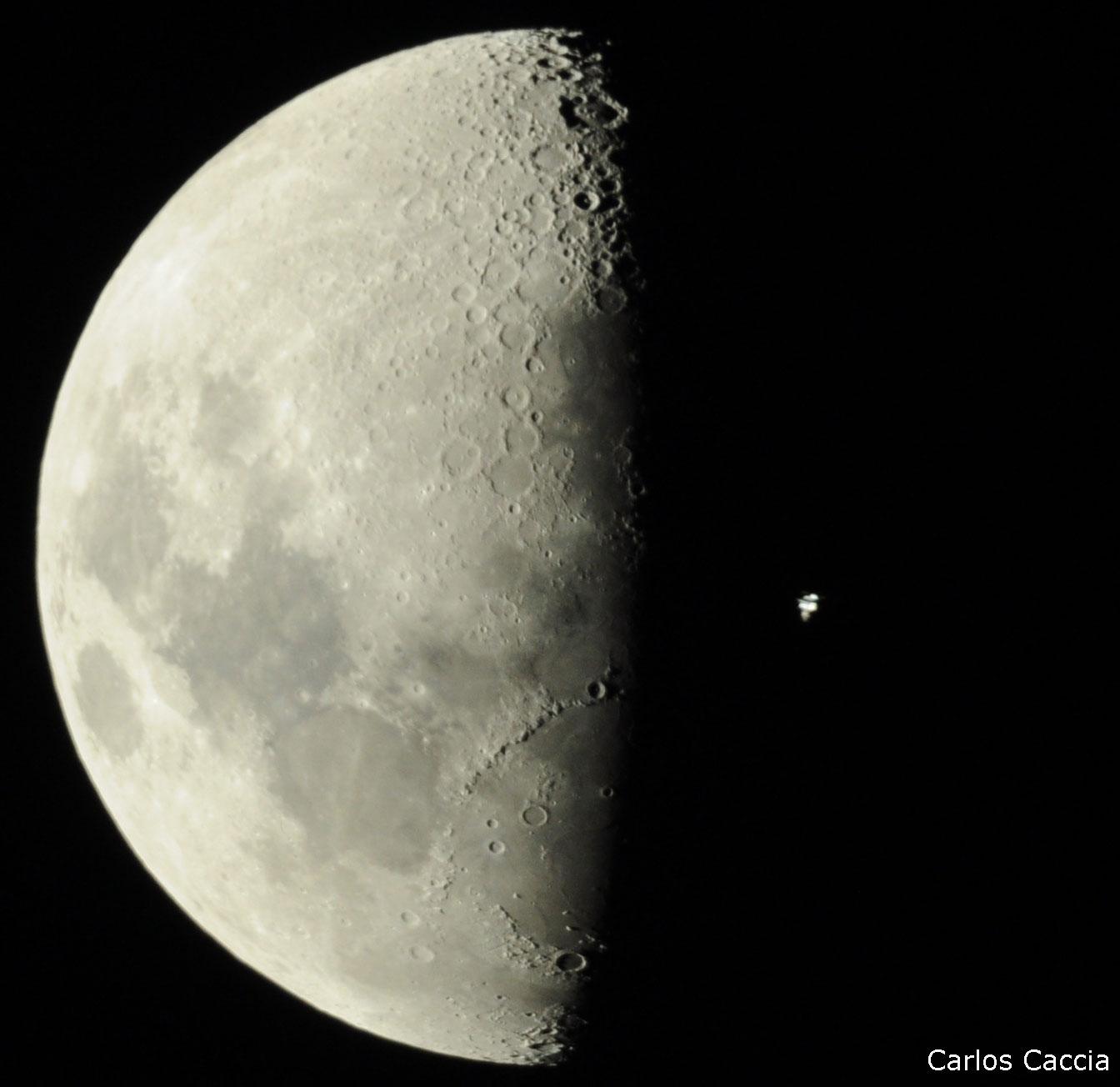 Unos sencillos pasos para ver la ISS pasar por encima ISS_Transito_20081106_1