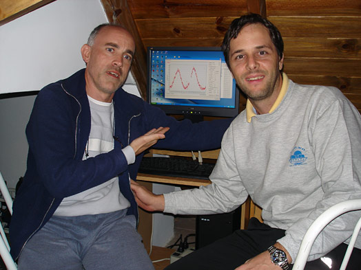 Sebastián Otero y Ezequiel Bellocchio