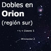 Dobles en Orion (regi�n sur)