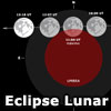Eclipse Lunar Parcial Junio 2012