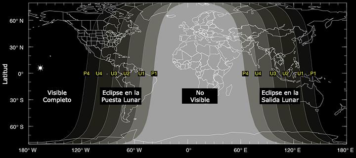 Eclipse de Luna 2014 Octubre Eclipse Lunar Octubre 2014